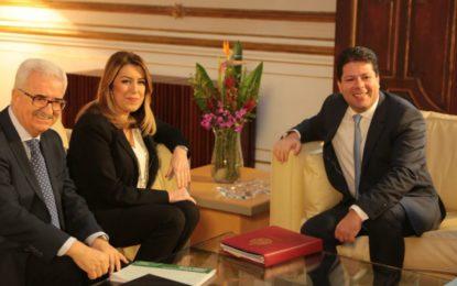 El Secretario General de los Socialistas de La Línea, Juan Chacón Fernández, ha definido  como histórica la reunión que ha mantenido hoy la Presidenta de la Junta de Andalucía,  Susana Díaz, con el Ministro Principal de Gibraltar, Fabián Picardo