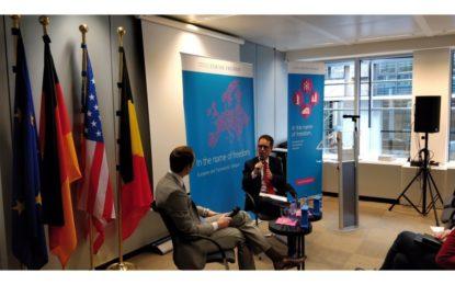 El Viceministro Principal explica la situación gibraltareña en un think tank liberal en Bruselas
