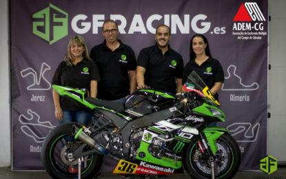 Convenio de colaboración entre ADEM-CG y la escudería de motos GFRACING