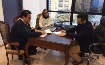 Firmado el convenio anual entre el Ayuntamiento y el Consejo Local de Hermandades y Cofradías para la celebración de la Semana Santa