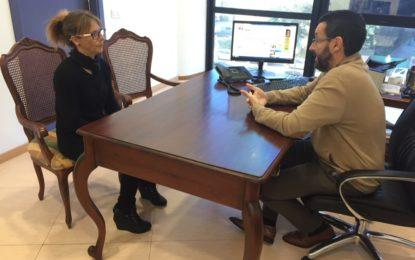 Franco muestra su apoyo a la familia de Juan Carlos Luque, fallecido hace dos años tras un atropello