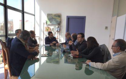 Franco profundiza con el Grupo Transfronterizo en la creación de la Agrupación Europea de Cooperación Territorial