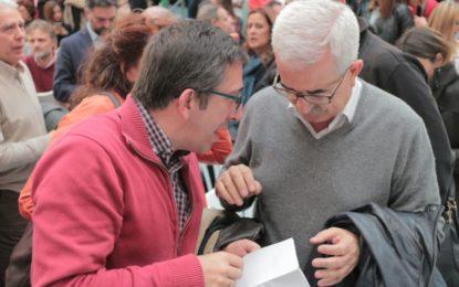 Juan Chacón Fernández Secretario General del PSOE de La Línea se alegra de que el Alcalde de La Línea baje el tono respecto a la reunión del PSOE en la sede Federal de Madrid