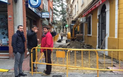 Reanudadas las obras en el último tramo de la calle Doctor Villar con un plazo de ejecución de mes y medio