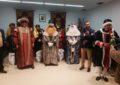 El alcalde ha presidido la recepción a los Reyes Magos en el salón de plenos