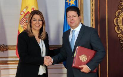 La Presidenta de la Junta de Andalucía visita el Ayuntamiento