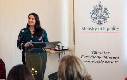 Enorme éxito del Seminario sobre el Autismo promovido por el Ministerio de Igualdad de Gibraltar
