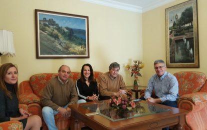Fernández y Casanova trabajan en el nuevo convenio de Castellar