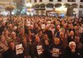 Numerosa asistencia a la concentración por las pensiones en La Línea