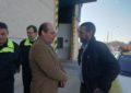 El alcalde analiza con el presidente del Consorcio la construcción del nuevo parque de bomberos