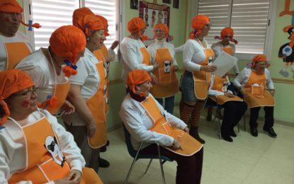 Franco asiste a la jornada de carnaval de la Asociación de Alzhéimer