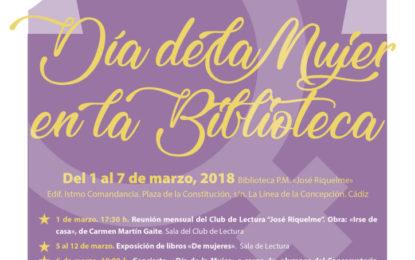 """La Biblioteca Municipal """"José Riquelme"""" desarrollará su """"Semana de la Mujer"""""""