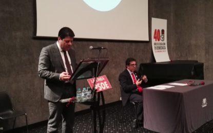 Sensacional discurso de Picardo en el 40 aniversario del PSOE linense