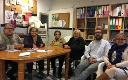 El Vicesecretario General del PSOE de La Línea se reune con la Directiva de la AAVV Amanecer