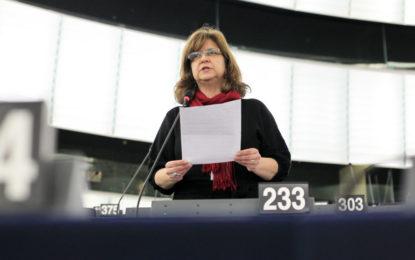 """IU denuncia que los eurodiputados del PSOE """"han abandonado a los trabajadores transfronterizos de Gibraltar"""" en la resolución sobre el Brexit"""