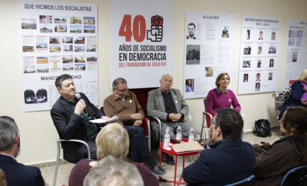 Primera charla coloquio sobre los 40 años del PSOE de La Línea