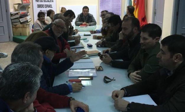 Reunión del PSOE local con los sindicatos del Ayto para abordar el tema de la RPT