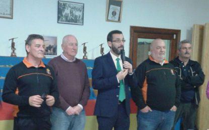 """Franco entregó los trofeos del X Trofeo Hermandad de Armas Históricas """"Ciudad de La Línea"""""""