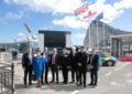 Los miembros del Comité Especial de la Cámara de los Loressobre la Unión Europea han estado en las instalaciones de la frontera