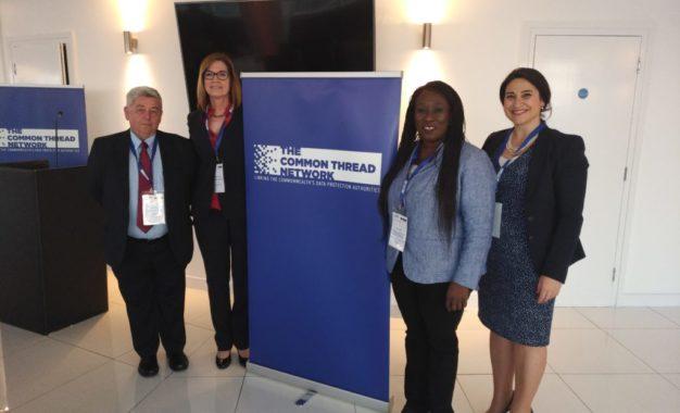 La ministra Sacramento asiste al evento de protección de datos de la Commonwealth