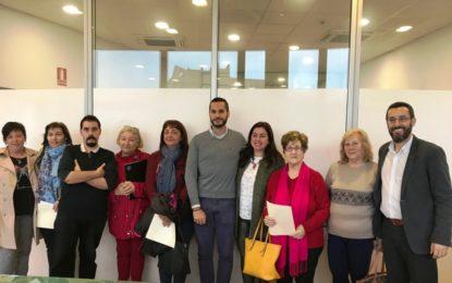 El Centro Social del Junquillo culmina su utilización con las actividades de cinco asociaciones que hoy han firmado sus convenios