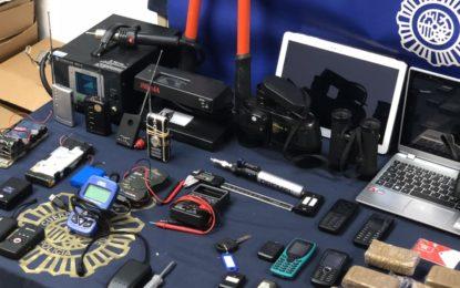 La Policía Nacional desarticula un grupo que vendía a narcos del Campo de Gibraltar todoterrenos sustraídos en urbanizaciones de lujo