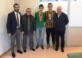 El alcalde recibe a los taekwondistas Enrique Durán y Alejandro Caravaca, medallistas en competiciones nacionales y autonómicas