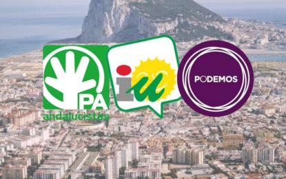"""Podemos, Izquierda Unida y el Grupo Andalucista rechazan la RPT aprobada por La Línea 100×100 y el PP por """"nacer muerta""""."""