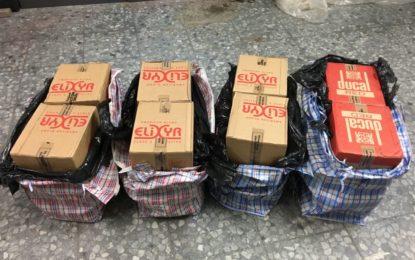 Detienen a cuatro españoles y confiscan 900 cajas de cigarrillos en Gibraltar