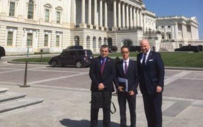 El Viceministro Principal defiende los intereses y explica la actual situación de Gibraltar en reuniones con miembros del Congreso de EE.UU.