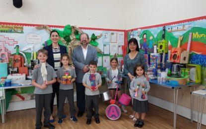 Primer concurso de instrumentos musicales en la escuela St Mary de Gibraltar
