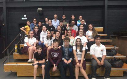 The Young Shakespeare Company representó obras a más de 2500 estudiantes en Gibraltar