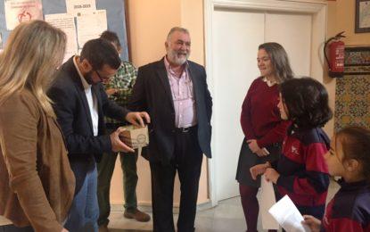 El alcalde participa en una jornada de actividades del colegio Juan Pablo II San Pedro