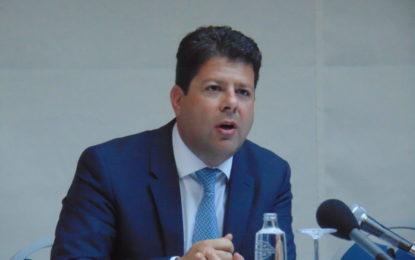 Fabian Picardo ofrece una conferencia en La Línea donde resalta las opciones económicas que podrían darse con Gibraltar