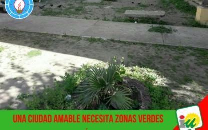 Izquierda Unida La Línea denuncia el lamentable estado en el que se encuentra la barriada de las Cuatro Plantas