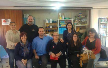 La Secretaria Ejecutiva de Participación Ciudadana, ONGs y Políticas al Desarrollo de la Comisión Ejecutiva del PSOE, se reunió días pasados con la Asociación de Esclerosis Múltiple del Campo de Gibraltar