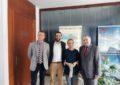 El alcalde y el rector de la UIMP presiden una reunión para evaluar el presupuesto de actividades para 2018