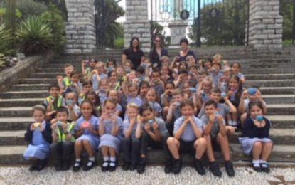 La escuela primaria de St Mary Celebra la Semana de la Felicidad en Gibraltar