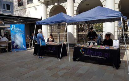El sábado el Ministerio de Cultura de Gibraltar promovió el intercambio de libros