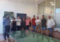 El alcalde agradece la labor desarrollada en el Ayuntamiento por alumnos en prácticas