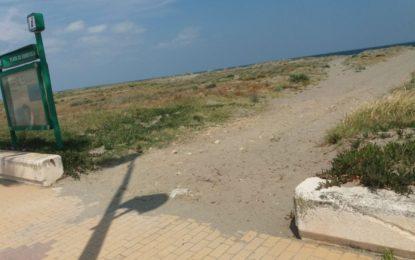Ciudadanos La Línea reclama al Ayuntamiento mejoras en las playas del municipio