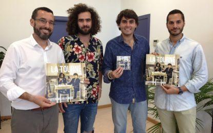 El ayuntamiento apoya al grupo linense 'La Tourné' que acaba de publicar su primer disco