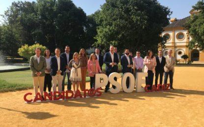 Juan Chacón participa en un encuentro con Irene Garcia y resto de candidatos del PSOE en la provincia