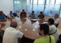 Concluyen las rondas de contactos entre Mario Fernández e inquilinos de las promociones de Emusvil