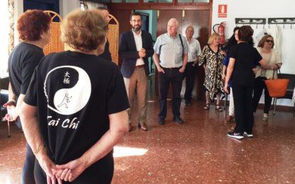 El alcalde visita el Centro de Participación Activa Padre Pandelo