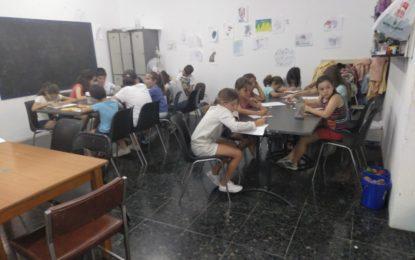 Iniciados los dos campamentos de verano que se desarrollan en la Casa de la Cultura
