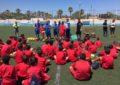 """El alcalde clausura la VII edición del Campus de fútbol """"Ciudad de la Línea"""""""