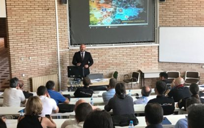 La Policía Real de Gibraltar imparte un curso de formación organizado por Europol en la Escuela Nacional de Policía en Ávila