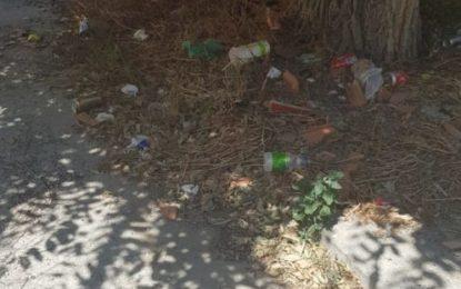 """Villar comprueba """"in situ"""" el desastroso estado de Los Junquillos"""