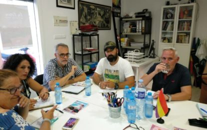 Izquierda Unida y el Círculo Podemos La Línea han mantenido la primera reunión de trabajo por la confluencia de ambas formaciones de cara a las elecciones municipales